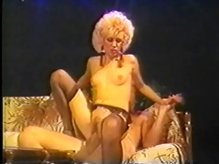 patti small takes cock on a ottoman
