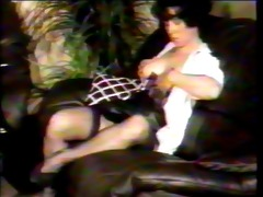 vintage 70s - sluts with toys and in nylon nylons