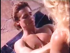 ginger lynn has sex poolside