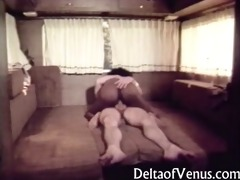vintage interracial porn - open road