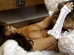 nice-looking lady in retro porn movie