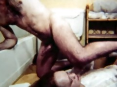 vintage fucking in the bathroom