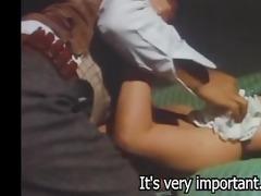 woods are wet 1973 (threesome erotic scene) mfm