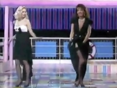 italian tv undress show