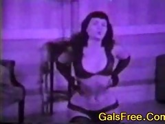 vintage porn! betty page oldschool